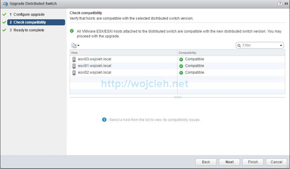 How to upgrade VMware Distributed Switch - 4