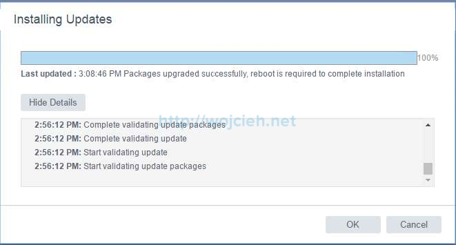 Update vCenter Server Appliance 6.5 to a newer version - 6