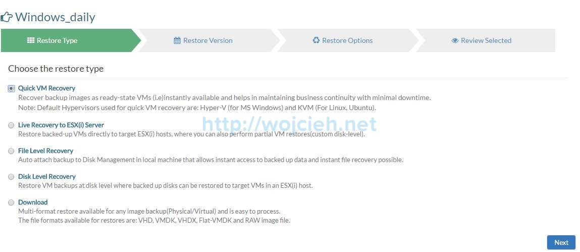Vembu BDR Suite Review - 17