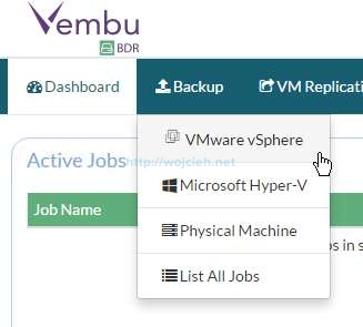 Vembu BDR Suite Review - 6