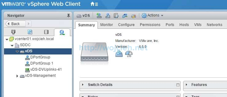 Backup vSphere Distributed Switch - 10