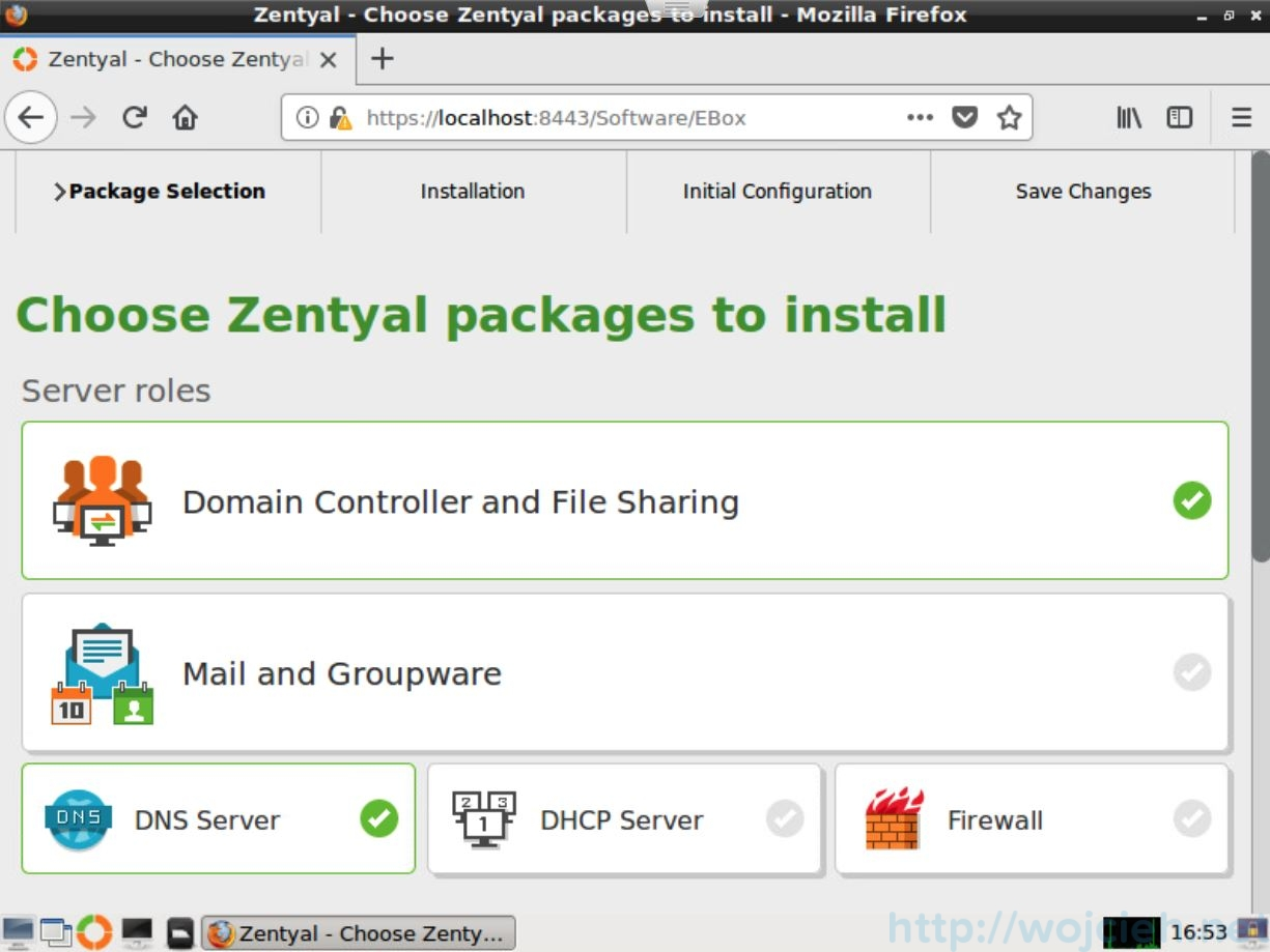 Zentyal - my new Homelab Swiss Army Knife - 17