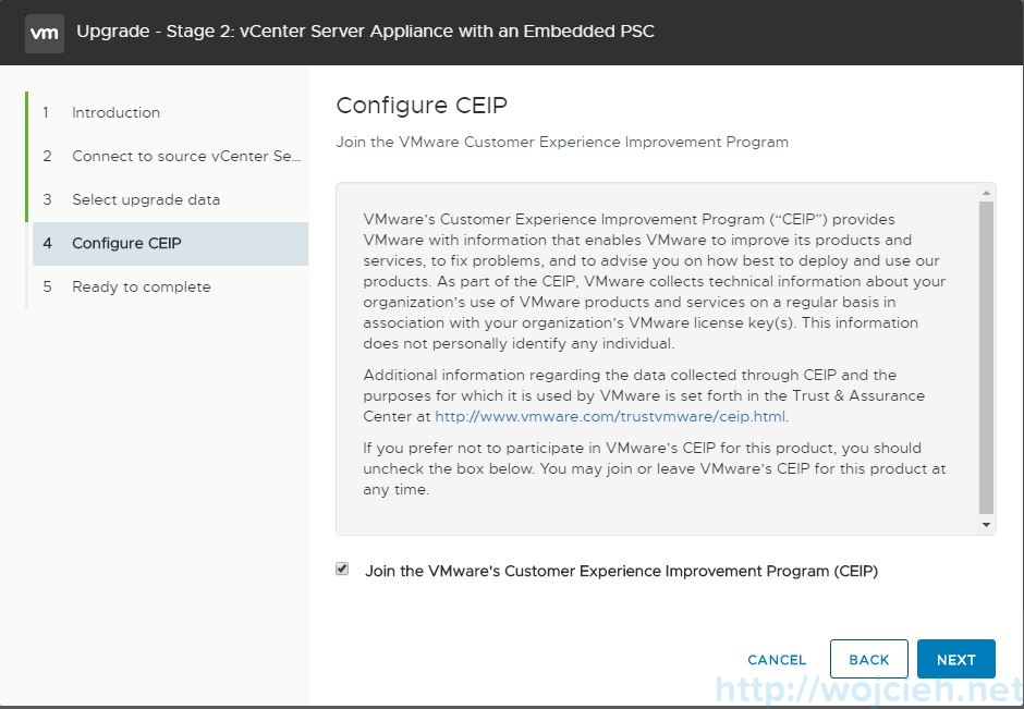 Upgrade vCenter Server Appliance 6.5 to 6.7 - 19