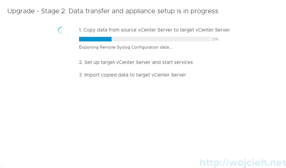 Upgrade vCenter Server Appliance 6.5 to 6.7 - 21