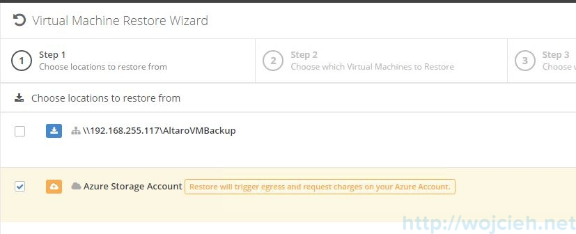 Send VMware backups to the cloud - Altaro Offsite Copies to an Azure Cloud Storage - 14